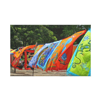 Colorful Scarves for Sale Canvas Print