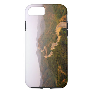 Colorful scenic at the great Wall of China in iPhone 8/7 Case