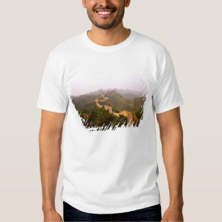 Colorful scenic at the great Wall of China in Tee Shirt