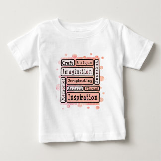 Colorful Scrapbooking Baby T-Shirt