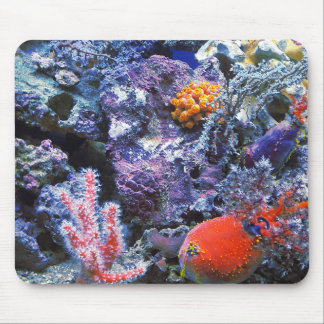 Colorful Sea Coral Mouse Mat