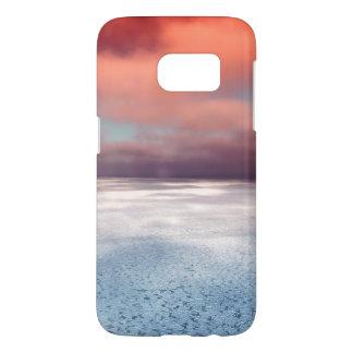 Colorful Sea Ice Reflection
