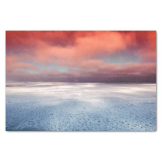 Colorful Sea Ice Reflection Tissue Paper
