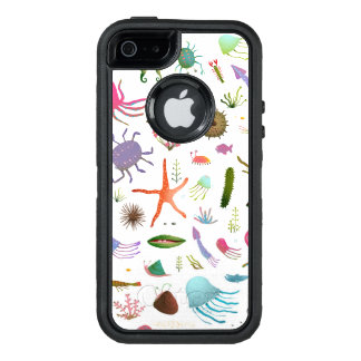 Colorful Sea Life OtterBox iPhone 5/5s/SE Case