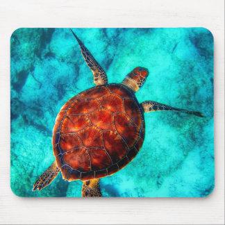 Colorful Sea Turtle Mouse Mat
