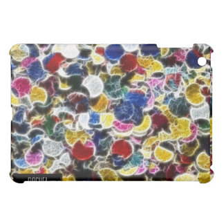 Colorful Sequin Fractal iPad iPad Mini Covers
