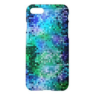 Colorful Sequins Look Disco Mirrors Pattern 5 iPhone 7 Case