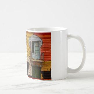 Colorful Shacks Buenes Aires Argentina Coffee Mug