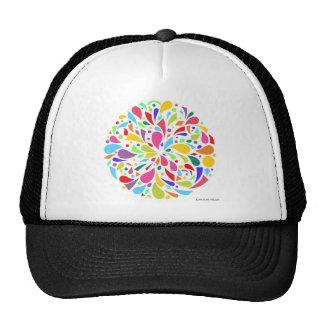Colorful Shape Burst Cap