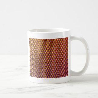 Colorful Shapes Pattern: Basic White Mug