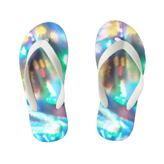 Colorful shoes kid's flip flops