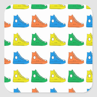 Colorful Shoes Sticker