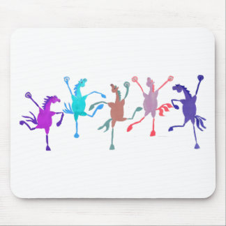 Colorful Silly Filly Accessories Mouse Pad