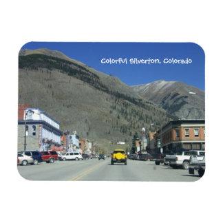 Colorful Silverton, Colorado Magnet
