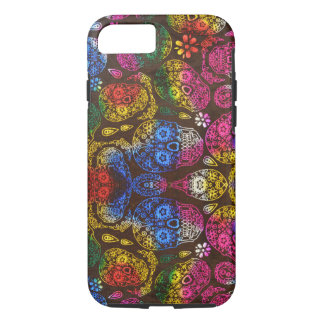 Colorful Skulls iPhone 8/7 Case