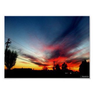 Colorful Sky Shot Poster