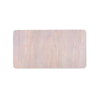 Colorful Slabs of Pink Goo Address Label