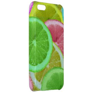 colorful slices of lemon and orange iPhone 5C case