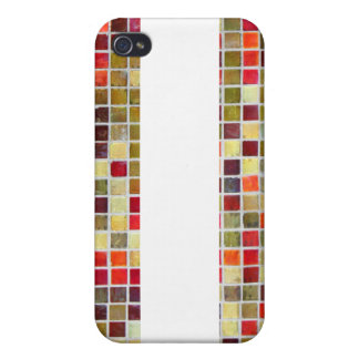 Colorful Small Tiling Background iPhone 4 Covers