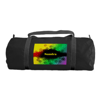 Colorful Soccer Duffel Bag