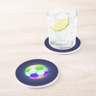 Colorful Soccer   Football Sport Gift Drink Coasters