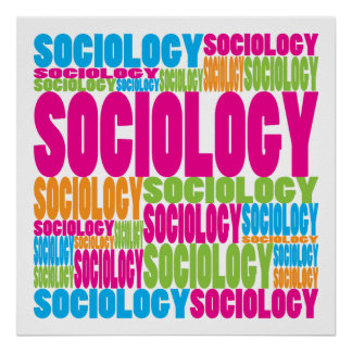 Colorful Sociology Poster