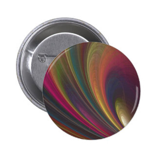 Colorful Soft Sand Waves 6 Cm Round Badge