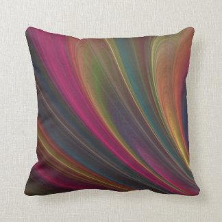Colorful Soft Sand Waves Cushion