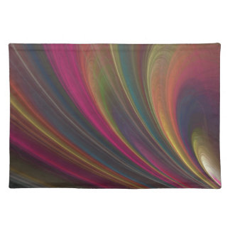 Colorful Soft Sand Waves Placemat
