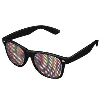 Colorful Soft Sand Waves Retro Sunglasses