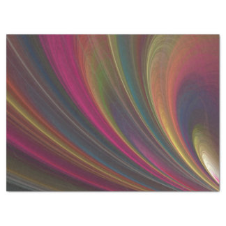 Colorful Soft Sand Waves Tissue Paper
