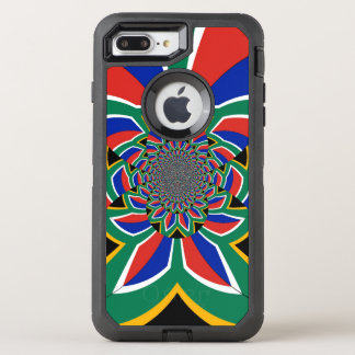 Colorful South Africa Design for the Apple iPhone OtterBox Defender iPhone 7 Plus Case