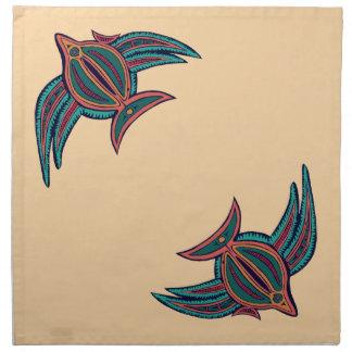 Colorful South Seas Art Napkins