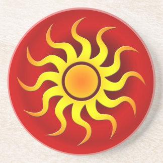 COLORFUL SOUTHWESTERN SUN COASTER