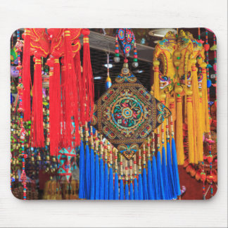 Colorful souvenirs in a shop, China Mouse Pad