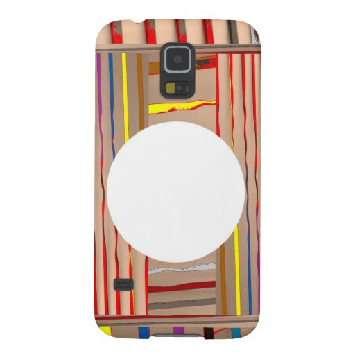 Colorful Sparkle Streaks - ADD your Image Text Galaxy Nexus Cover
