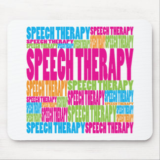 Colorful Speech Therapy Mouse Mats