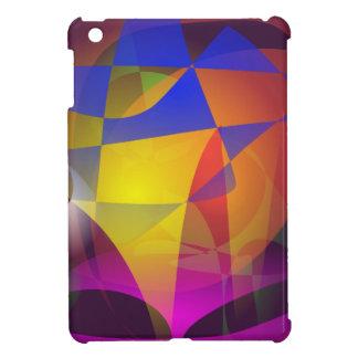 Colorful Spider's Web iPad Mini Covers