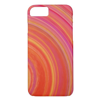 Colorful Spiral Abstract Background #25 iPhone 7 Case