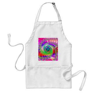 Colorful Spiral Design: Standard Apron