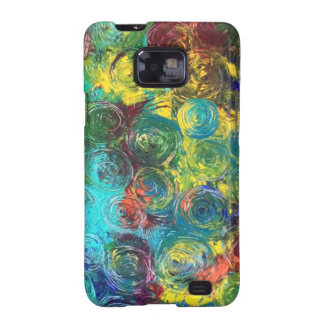 Colorful Spirals Samsung Galaxy SII Cover
