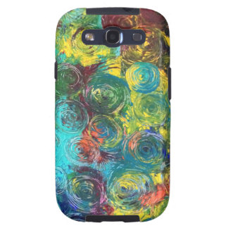 Colorful Spirals Samsung Galaxy SIII Cases
