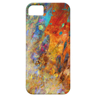 Colorful splash abstract. iPhone 5 cover