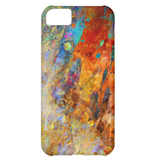 Colorful splash abstract. iPhone 5C cover