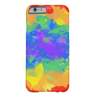 Colorful splash of tie dye watercolor casings barely there iPhone 6 case