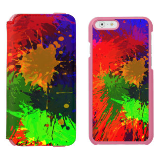 Colorful Splashes Incipio Watson™ iPhone 6 Wallet Case