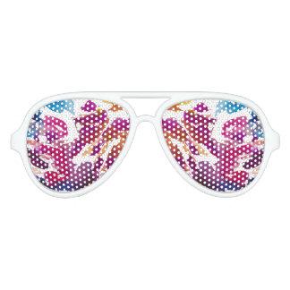 """Colorful spots"" Aviator Sunglasses"