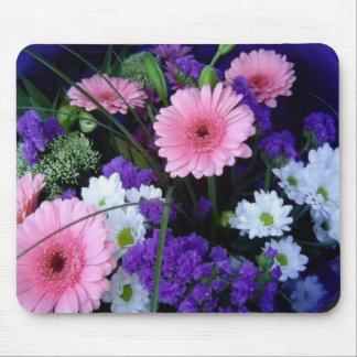 Colorful Spring Bouquet Mouse Mat