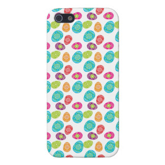 Colorful Spring Easter Eggs Pattern Case For The iPhone 5