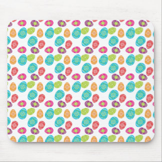 Colorful Spring Easter Eggs Pattern Gifts Mouse Pad